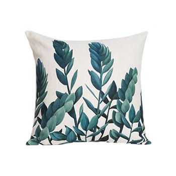 植物北欧靠垫靠枕靠背靠垫抱枕