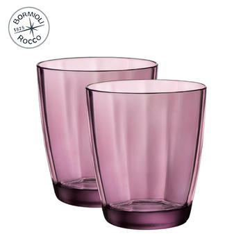 Bormioli Rocco 魄莎玻璃水杯A款 2只装