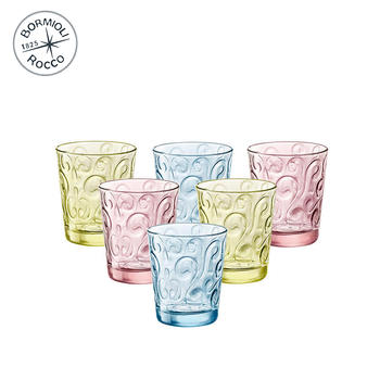 Bormioli Rocco 圣殿玻璃水杯 6只装