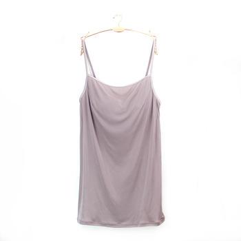 黛安芬带胸垫吊带裙舒适女式背心