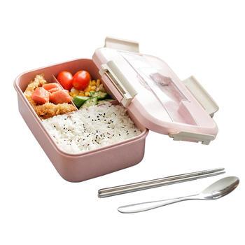 Ymer小麦健康分格便携饭盒送餐具
