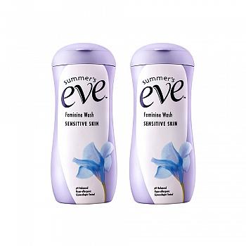 夏依Summer's Eve女性专用洗液(敏感肌肤)237ml*2瓶
