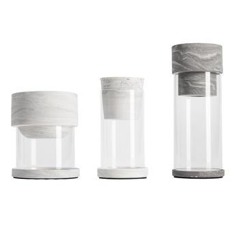 柏斐家饰 泰国进口 生态玻璃花瓶