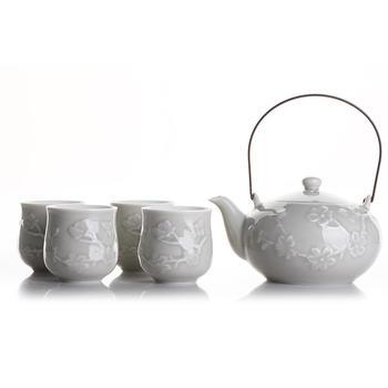 多样屋 樱花蝴蝶茶具组