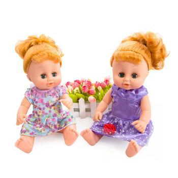爱亲亲 洋娃娃会说话的喂养娃娃