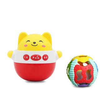 美贝乐音乐不倒翁学爬球组合玩具