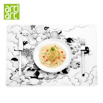 台湾artiart 创意涂鸦餐垫
