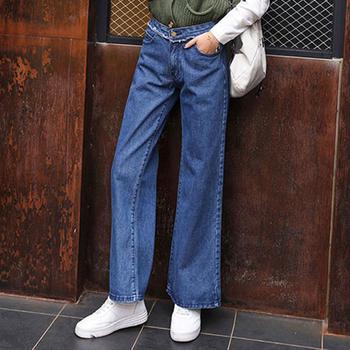 衣织优美  裤子女时尚百搭牛仔裤