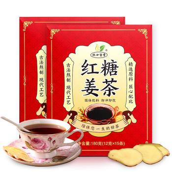 杯口留香红糖姜茶180克×2盒