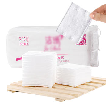 考比双面双用自然化妆棉 200片装