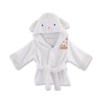 BabyAspen婴儿纯棉连帽浴袍