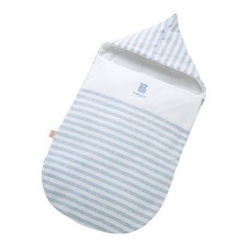 欧孕 新生儿春秋抱被棉舒绒睡袋