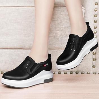 小白鞋女厚底运动鞋板鞋百搭单鞋
