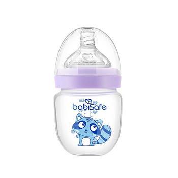 安儿欣新生儿玻璃小奶瓶120ml