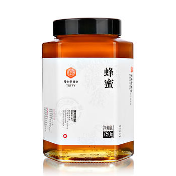 北京同仁堂臻品百花蜂蜜750g/瓶