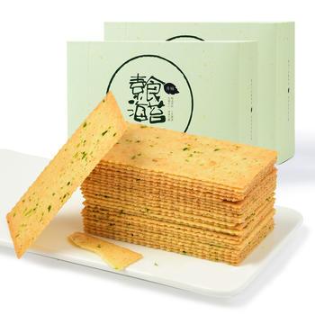 香楠素食海苔饼干416g*2盒