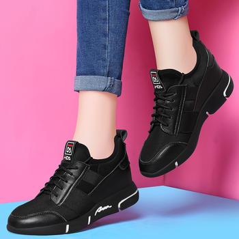 内增高原宿女鞋休闲学生跑步鞋子
