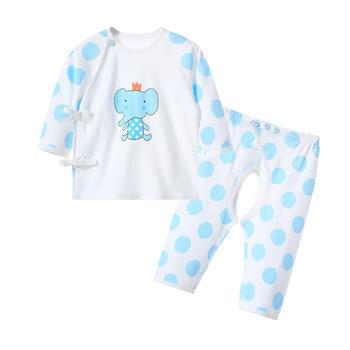 巧尼熊新生儿内衣套装婴儿和尚服