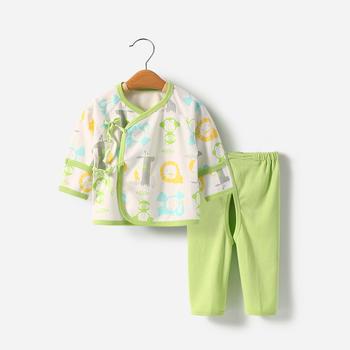 舒贝怡 新生儿内衣套装0-3个月