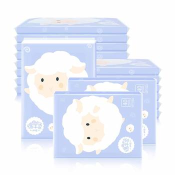 植护婴儿面巾纸小包便携40抽10包
