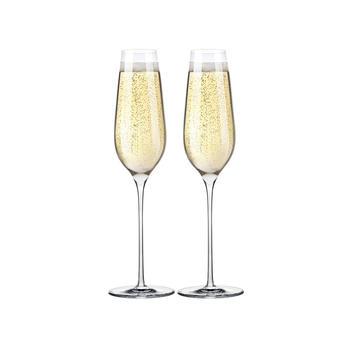 RONA洛娜 爱马仕手工香槟杯 2只装