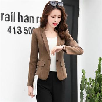 UYUK2018年春季身韩版长袖短款西装