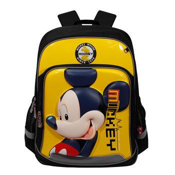 迪士尼书包小学1-4年级立体双肩包