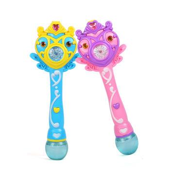 爱亲亲吹泡泡魔法棒儿童泡泡玩具