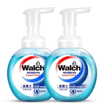 威露士泡沫洗手液225ml 二支装