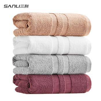 三利埃及长绒棉浴巾 1000g加大加厚