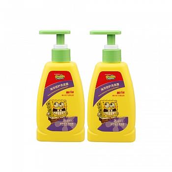 美国•海绵宝宝 (SpongeBob)海洋倍护洗发露200ml*2