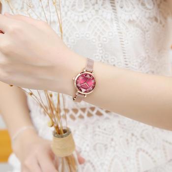 聚利时韩风时尚潮流手链网带手表