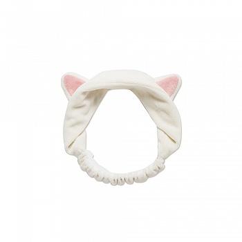 伊蒂之屋 梦幻美妆工具-甜心猫咪束发带