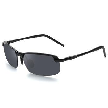 太阳镜男款偏光铝镁墨镜