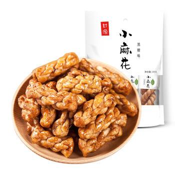 甘源 黑糖味小麻花188g