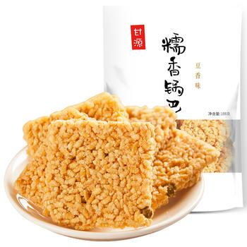 甘源 豆香味糯香锅巴188g