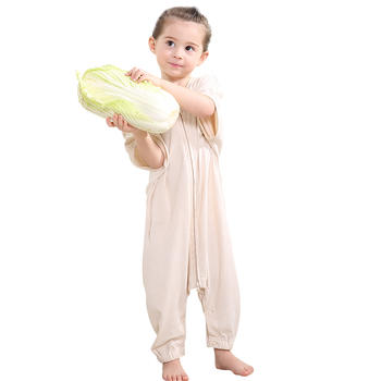 婧麒分腿宝宝睡袋纯棉婴儿防踢被