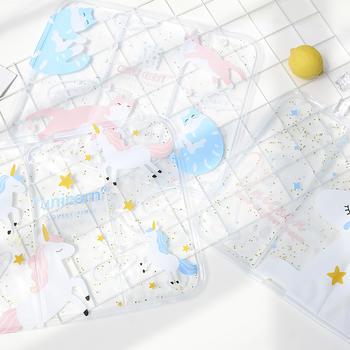乐高家居透明冰垫卡通可爱冰袋