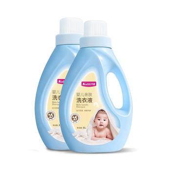 开丽 婴儿亲肤洗衣液1L*4瓶