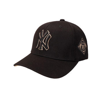 MLB刺绣男女可调节时尚百搭棒球帽