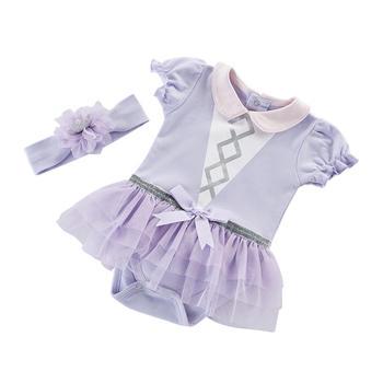 BabyAspen公主裙哈衣爬服0-6个月