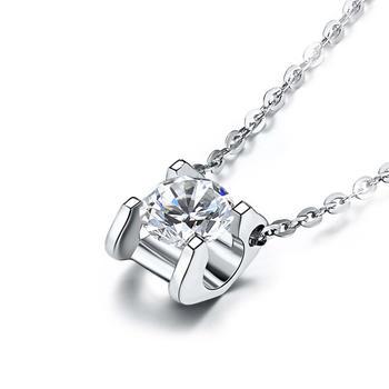 今上珠宝 18K金钻石牛头款吊坠