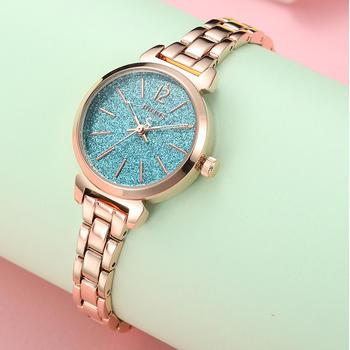 聚利时韩风闪耀星空手链学生手表