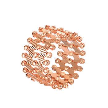 今上珠宝 18K金魔戒手镯女戒指