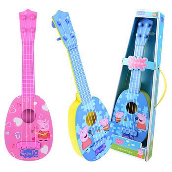 小猪佩奇尤克里里吉他儿童玩具