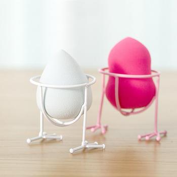 美丽工匠 美妆蛋可爱粉扑化妆棉收纳架2个