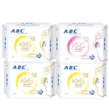 ABC防侧漏日夜用32片姨妈巾组合