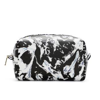 柒格格化妆包大容量简约便携手包