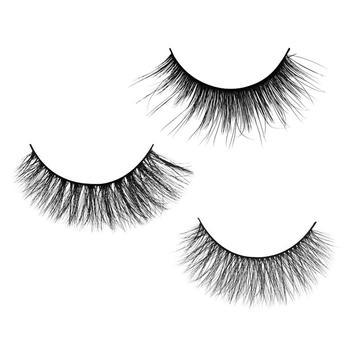 牙小白3D自然浓密款假睫毛5对装多款选择