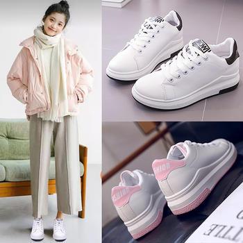 明星同款 韩版百搭舒适小白鞋